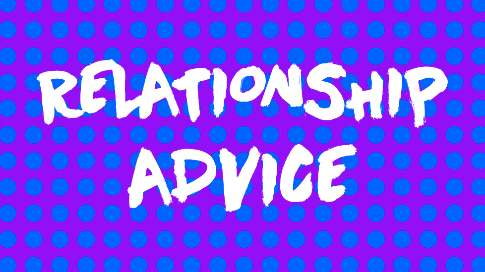 REALTIONSHIP ADVICE COVER